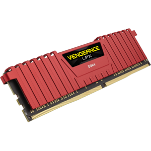 Corsair Vengeance LPX 16GB, DDR4, 3200MHz, CL16, 2x8GB, 1.35V - RED