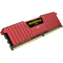 Vengeance LPX 8GB, DDR4, 2400MHz, CL16, 1x8GB, 1.2V - RED
