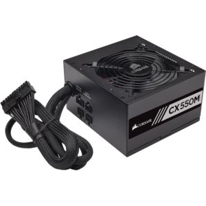 Sursa Corsair 550W, CX-M Series, CX550M, 80 PLUS Bronze