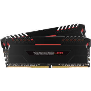 Corsair Vengeance LED 2x8GB DDR4 2666MHz C16 - Red LED