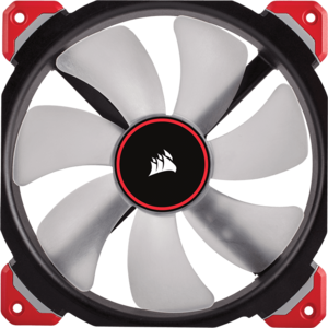Ventilator Corsair ML140 PRO LED Red 140mm Premium Magnetic Levitation CO-9050047-WW