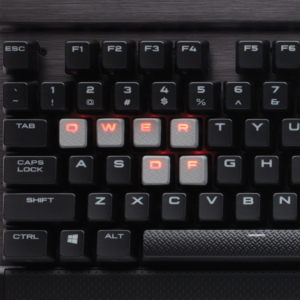 Corsair Gaming K70 RAPIDFIRE Red LED, Cherry MX Speed, Layout NA