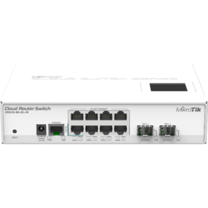 Switch MikroTik CRS210-8G-2S IN