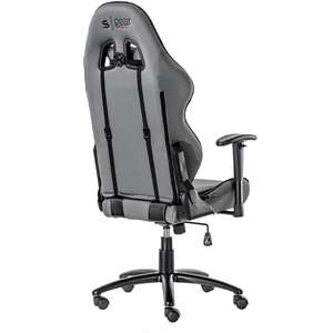 SPC Gear SR300F GY Gaming Chair Grey Fabric