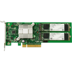 Synology Dual M.2 SSD PCIe Gen2 x8 adapter card M2D17