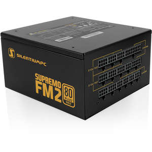 Sursa SILENTIUM PC Supremo FM2 Gold Series, 750W, 80 PLUS Gold