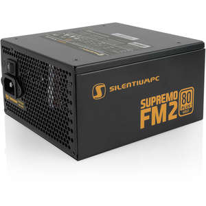 Sursa SILENTIUM PC 650W, Supremo FM2 Gold Series, 80 PLUS Gold