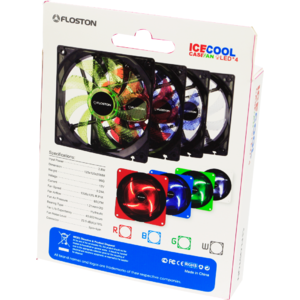 Ventilator Floston ICE4Blue LED